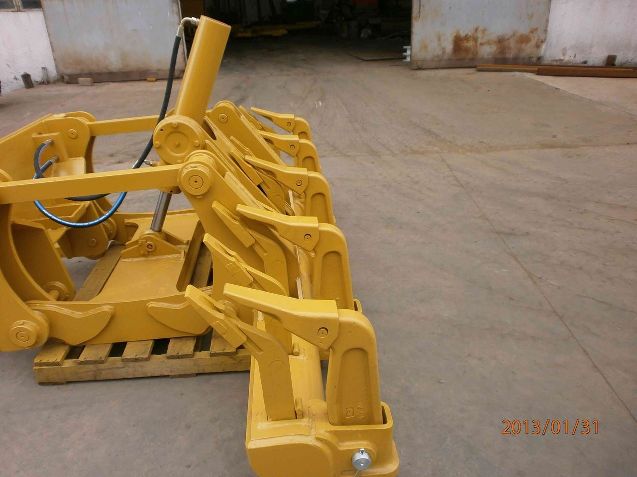 Picture of Grader CAT 160H MS rippers