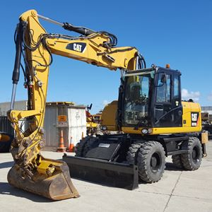 Picture of Caterpillar M313D Wheeled Excavator