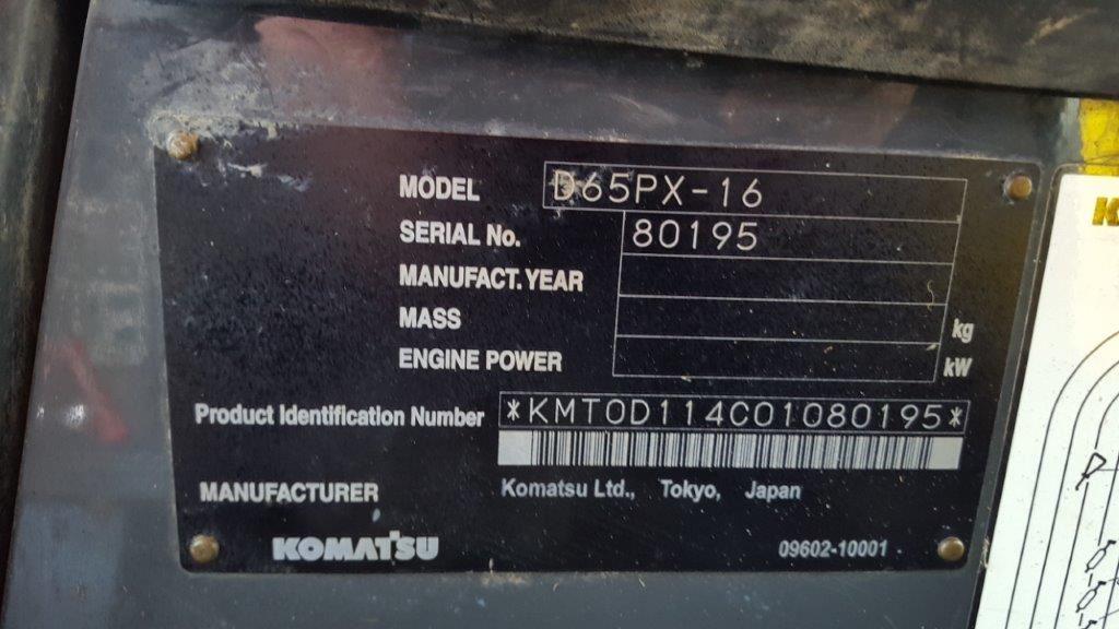 Picture of Komatsu D65PX - 16