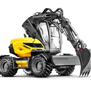 Picture for category Wheeled Excavator MWR Series
