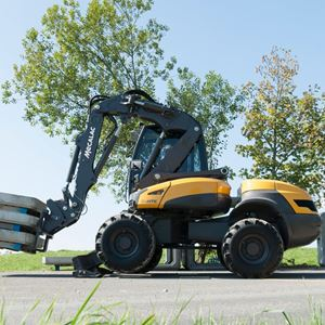 Picture for category Wheeled Excavator Loader
