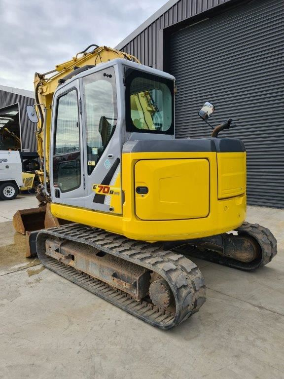 Picture of New Holland E70BSR
